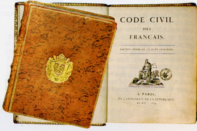 1804 03 21 mars Promulgation du Code civil Napoleon