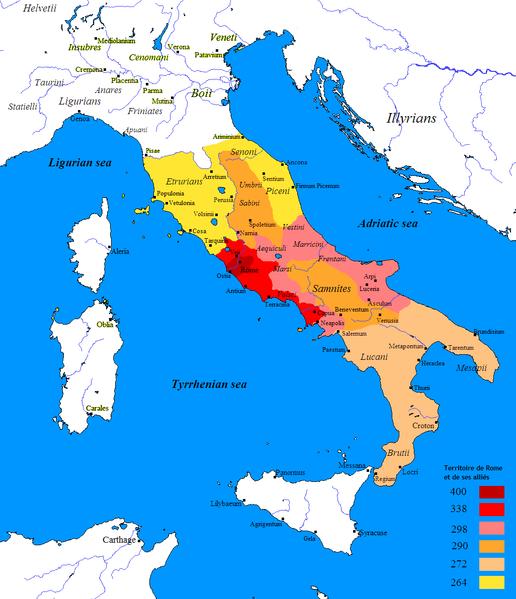 conquête-rome-italie