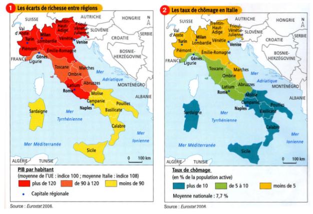disparités-italie