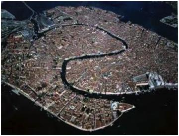 Venise photo aérienne