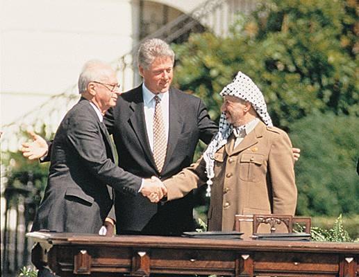 Rabin Clinton arafat oslo 1993