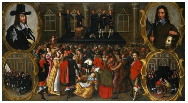 execution charles I - 1649