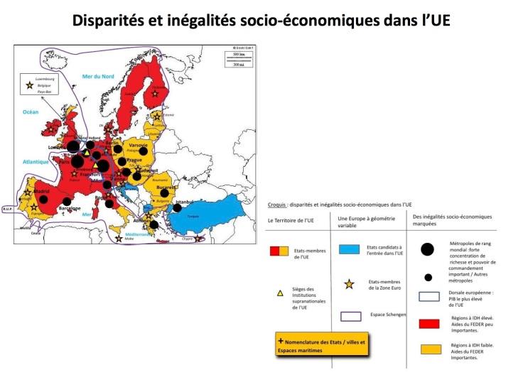Disparites socioeconomiques UE