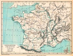 Carte de France 1769-1789